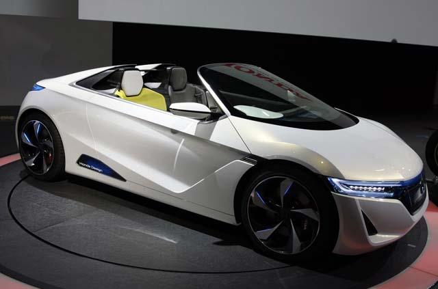 Mobil Listrik Konsep Honda