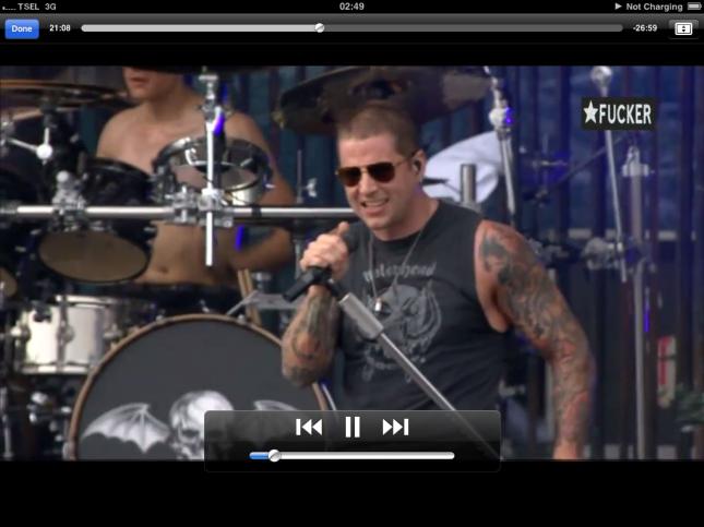 Avenged Sevenfold Live HD Graspop